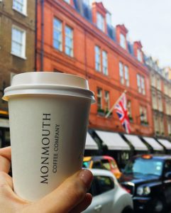 Monmouth Coffee in London - kktravelsandeats