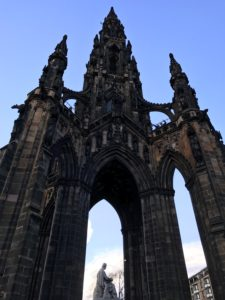 Scott Monument, Edinburgh - kktravelsandeats