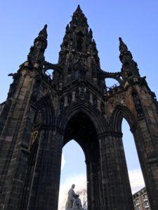 Scott Monument, Edinburgh - kktravelsandeats